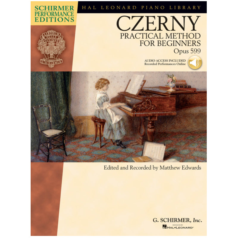 Carl Czerny – Practical Method for Beginners, Op. 599