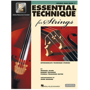 Essential Technique for Strings - Double Bass with EEi