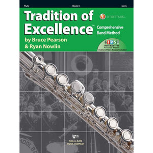 Tradition of Excellence Book 3 - Flute w/IPS