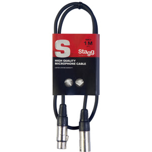 Stagg 3ft XLR Microphone Cable