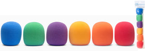 Stagg 35mm Multi-color Windscreens 6-pack