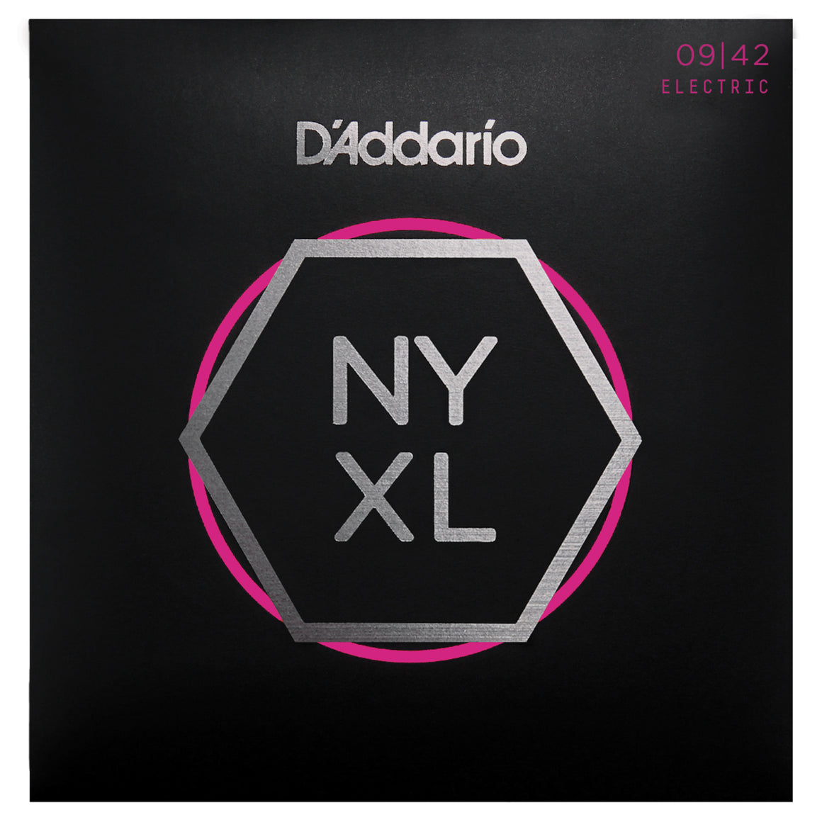 D'Addario NYXL0942 9-42 Nickel Super Light Electric Guitar Strings