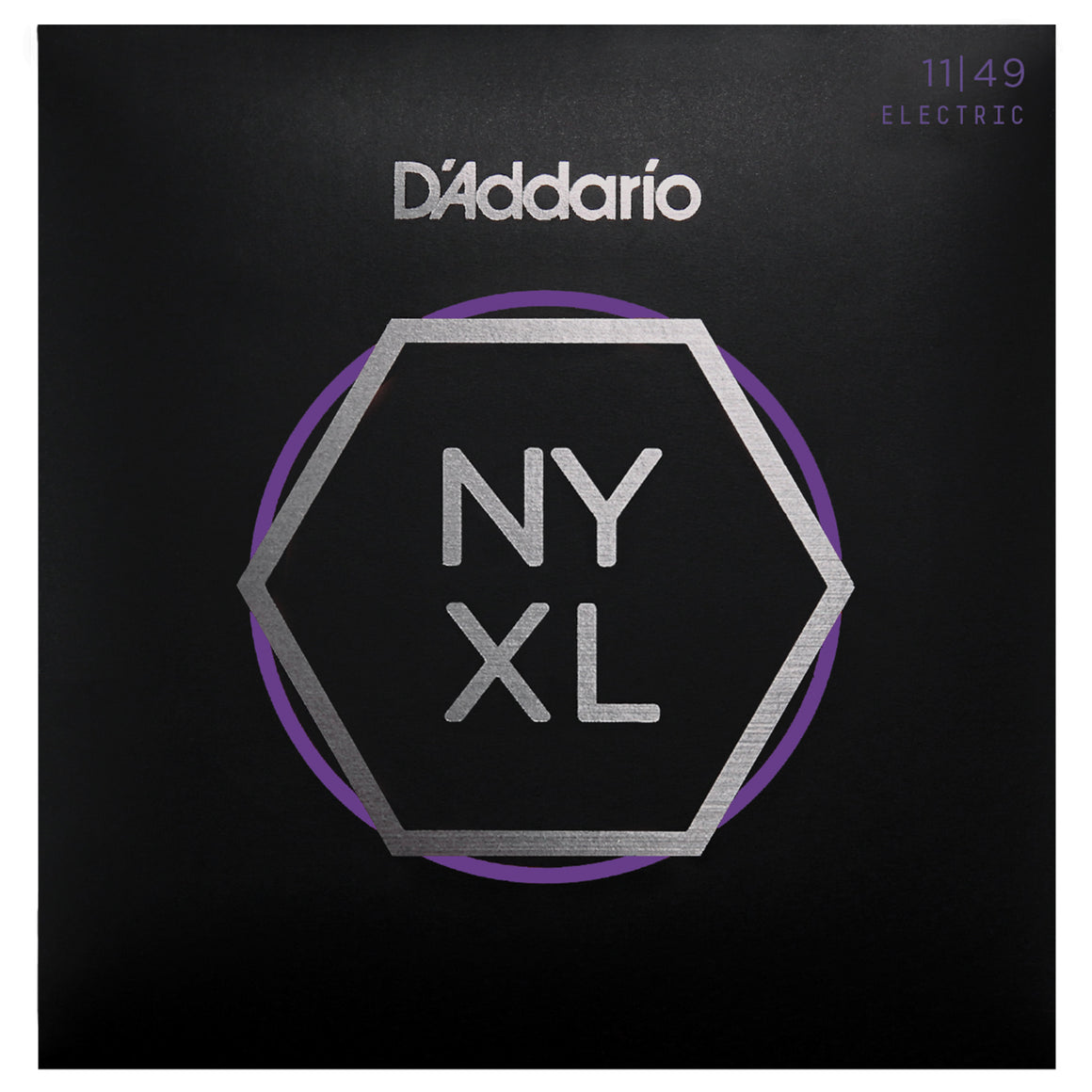 D'Addario NYXL1149 11-49 Nickel Medium Electric Guitar Strings