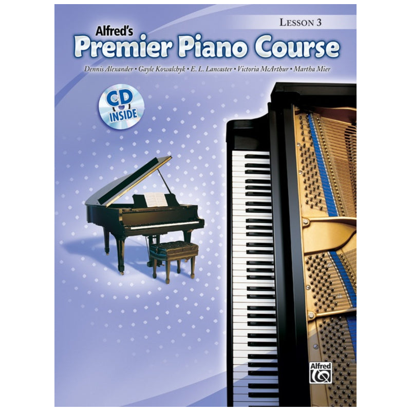 Alfred's Premier Piano Course Lesson 3 w/CD