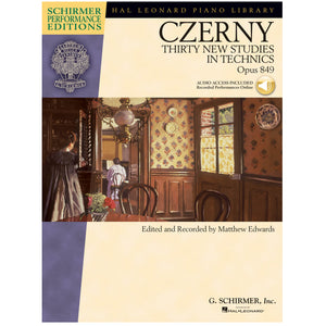 Carl Czerny – Thirty New Studies in Technics, Op. 849
