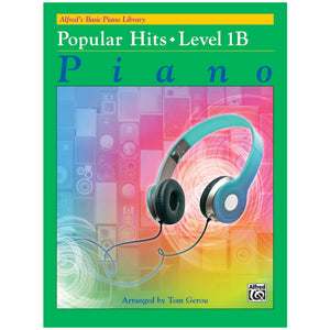 Alfred's Basic Piano Library Popular Hits Book Level 1B