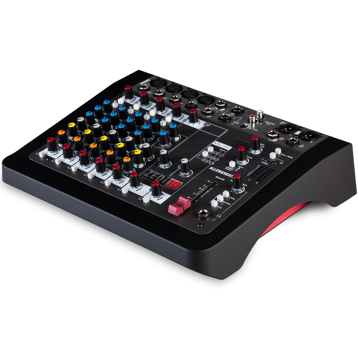 Allen & Heath ZEDI-10 10-Channel Mixer with USB Audio Interface