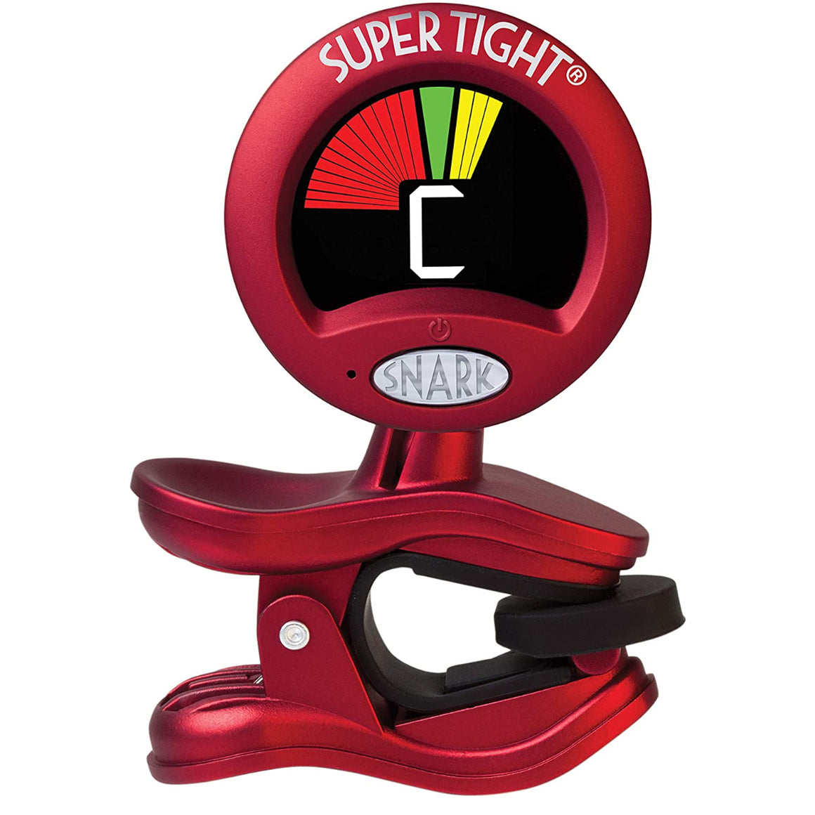 Snark ST-2 Clip-On Chromatic Tuner with Metronome - Red