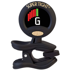 Snark ST-8 Super-Tight Clip-On Chromatic Tuner with Metronome - Black