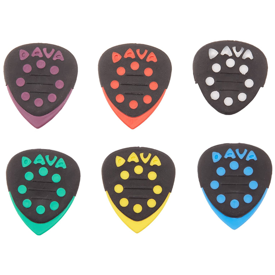 Dava 6024 Grip Tip 6pk Assorted Colors