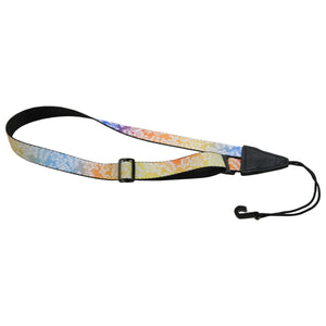 "1"" Levy's Poly Multicolor Ukulele strap"