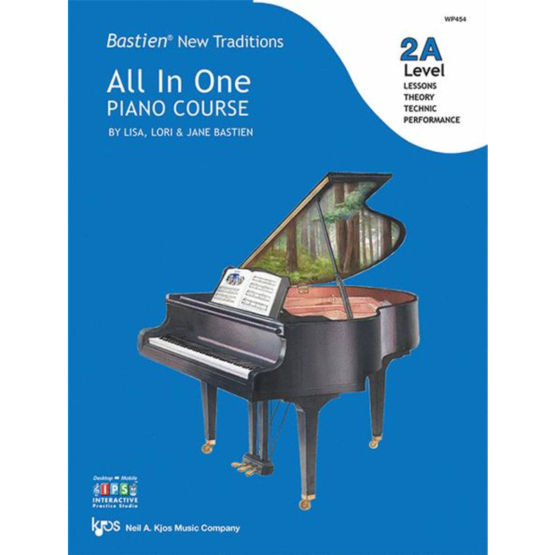 Bastien New Traditions: All In One Piano Course - Level 2A