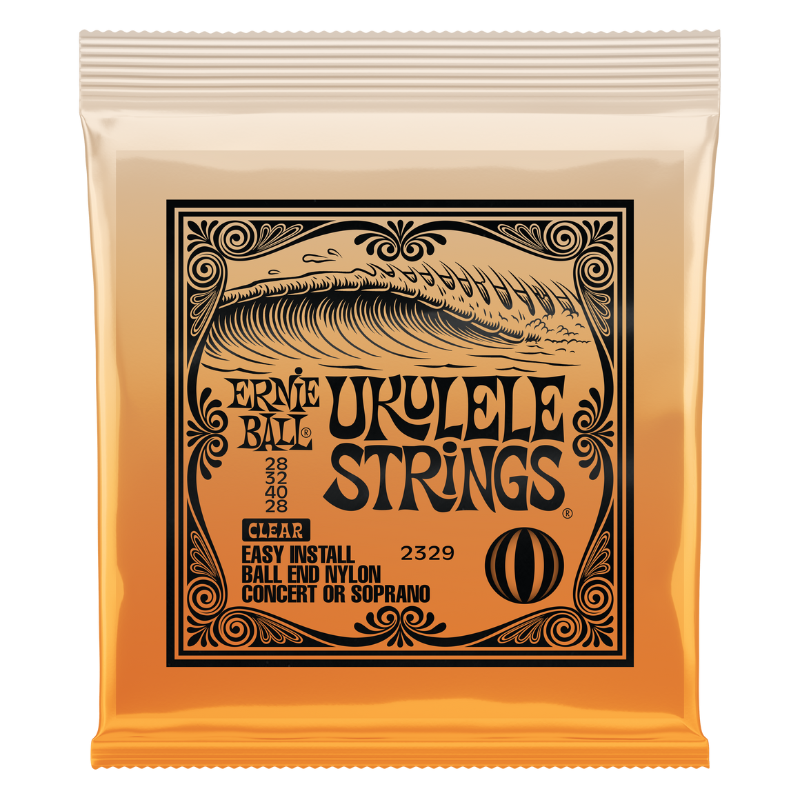 Ernie Ball 2329 Clear Concert Soprano Strings