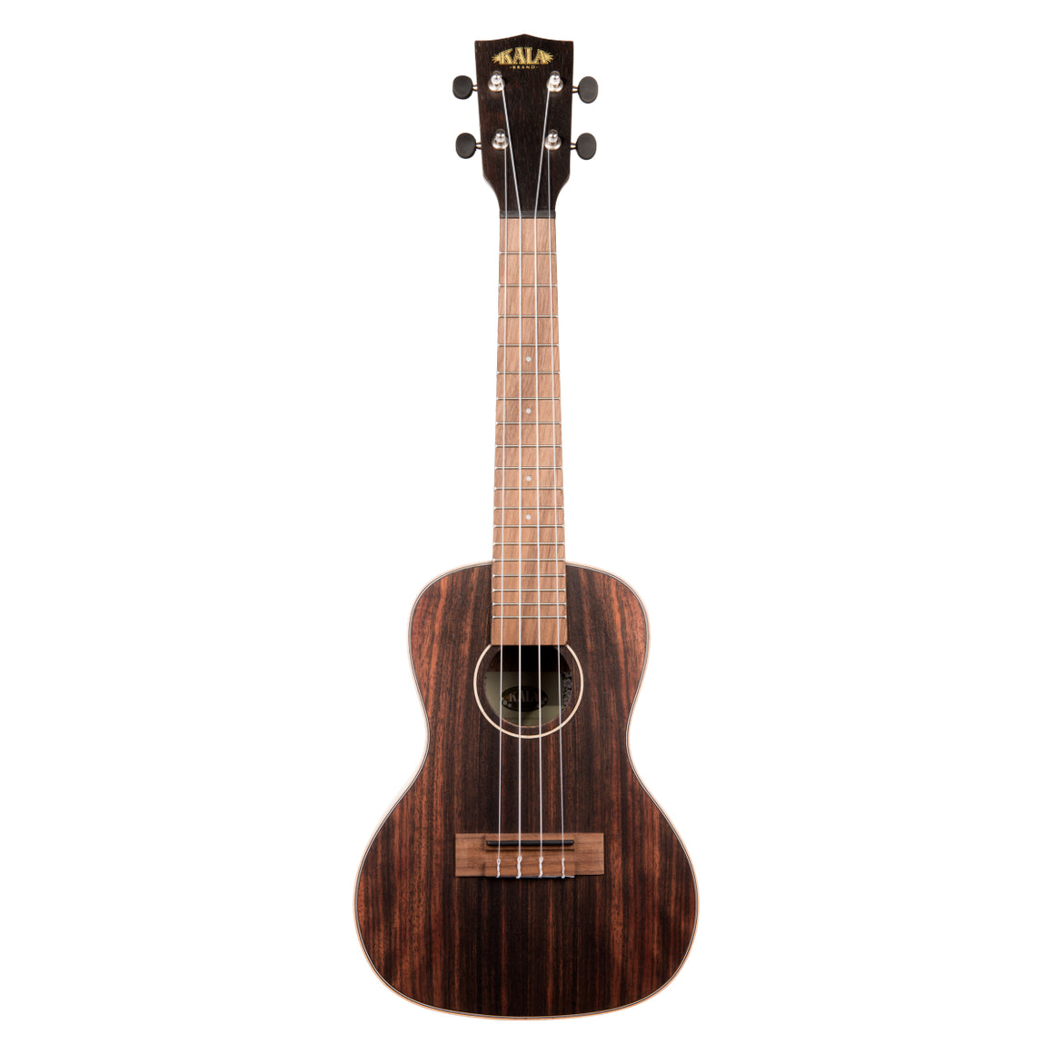 Kala Striped Ebony Concert Ukulele