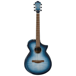 Ibanez AEWC400 Acoustic Electric Guitar - Indigo Blue Burst