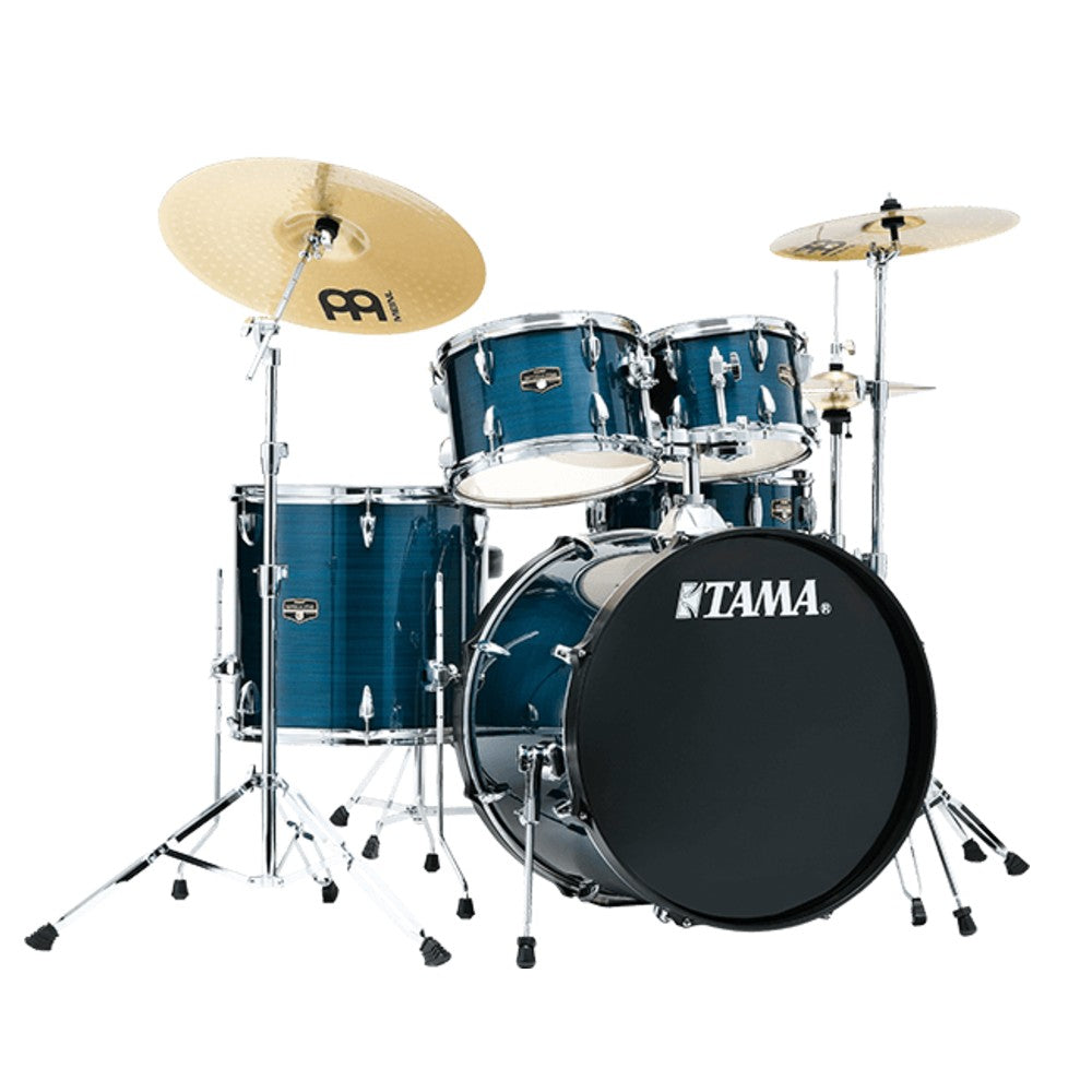Tama Imperialstar 5-Piece Complete Drum Kit - Hairline Blue