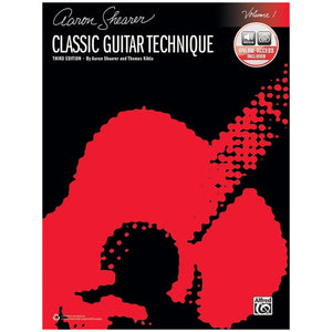Aaron Shearer - Classic Guitar Technique   Volume 1 (Third Edition) w/Online Audio