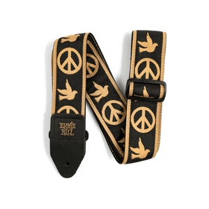 Ernie Ball 4613 Peace Love Dove Jacquard Strap