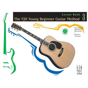The FJH Young Beginner Guitar Method Lesson Book 3