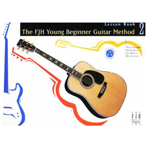 The FJH Young Beginner Guitar Method Lesson Book 2