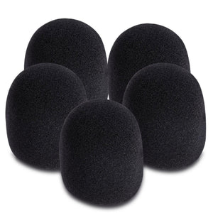 On-Stage Black Windscreens 5-Pack