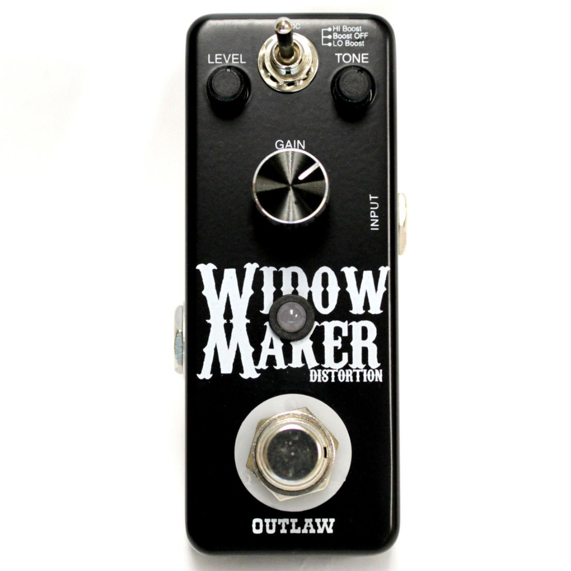 Outlaw Widow Maker Distortion Pedal