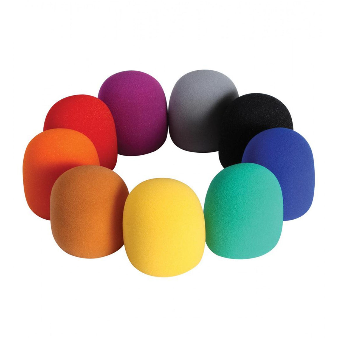 On-Stage Colored Windscreens 9-Pack