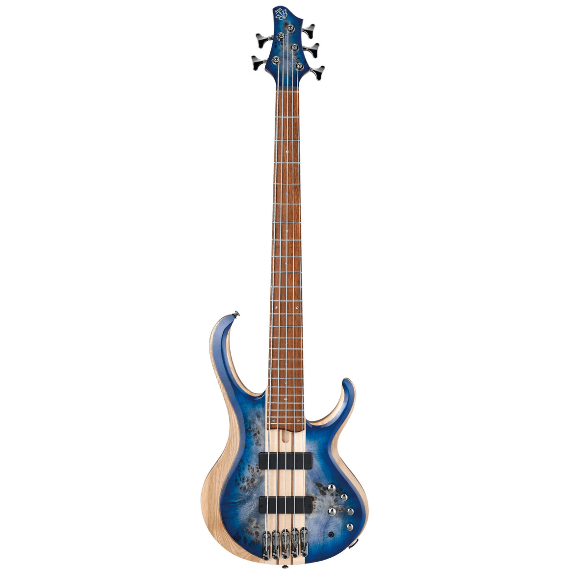Ibanez BTB845 5-String Electric Bass - Cerulean Blue Burst