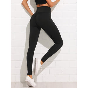 Shirred Back Leggings