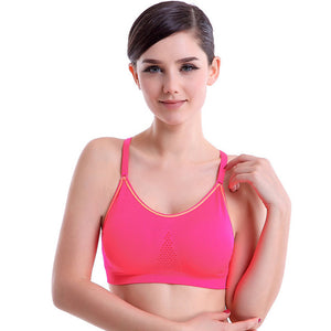 Double Layers Adjustable Strap Wire Free Bra