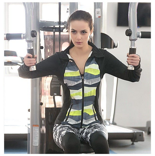 Breathable Long Sleeve Sports Jacket