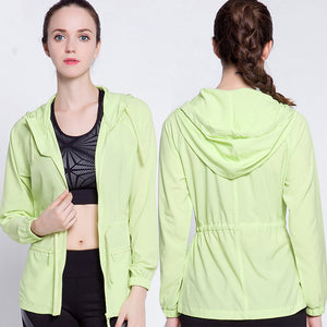 Breathable Hooded Sports Jacket