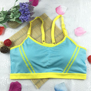 Athletic Wrap Strap Tops Bra