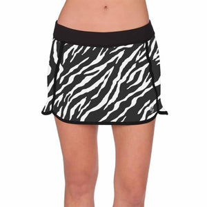 Zebra-stripe Tennis Skirts