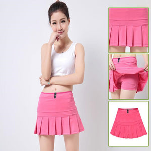 Pleated Tennis Skorts/Badminton Skirts