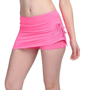 Breathable Yoga Active Skirt Shorts
