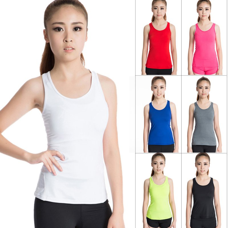 Vest Tights Running/Yoga Fitness Tee Shirts
