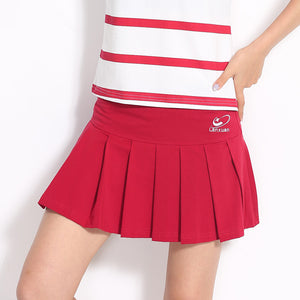 Tennis Badminton Sport Skirt/Pleated Sport Skort