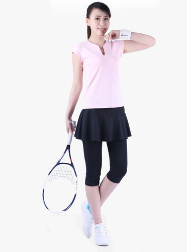 Calf-Length Tennis Skirts/Badminton Skorts