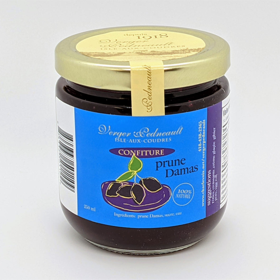 Confiture de prunes Damas