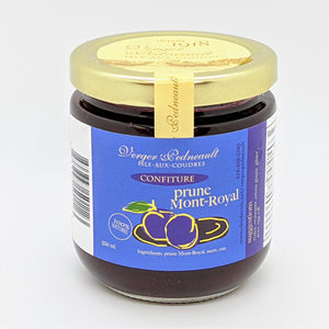 Confiture de prunes Mont-Royal