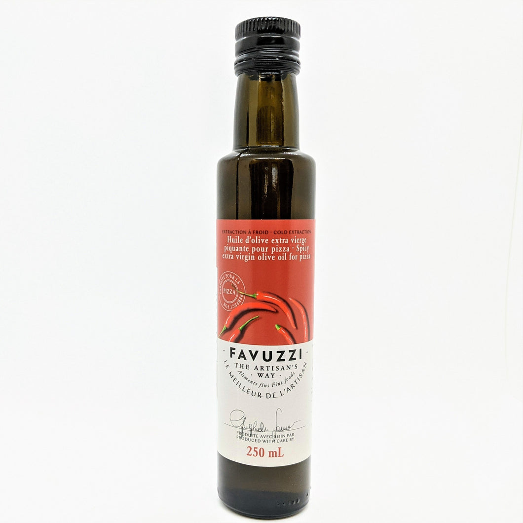 Huile d'olive extra vierge pour pizza