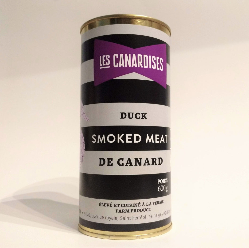 Smoked meat de canard
