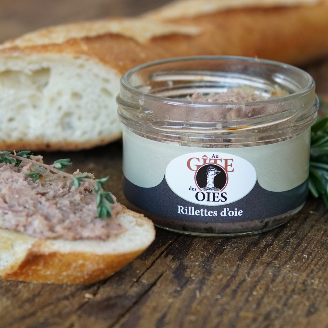Rillettes d'oie nature
