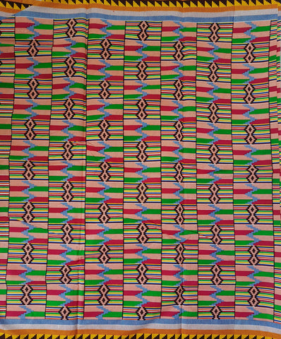 Kente African Wax Print Fabric