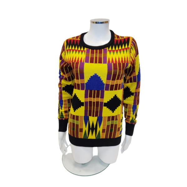 ADISHIE Kente Inspired Sweater