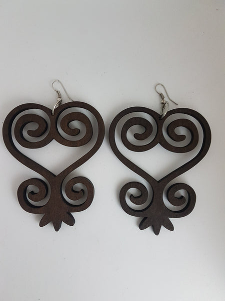 A K O M A - Adinkra Earrings