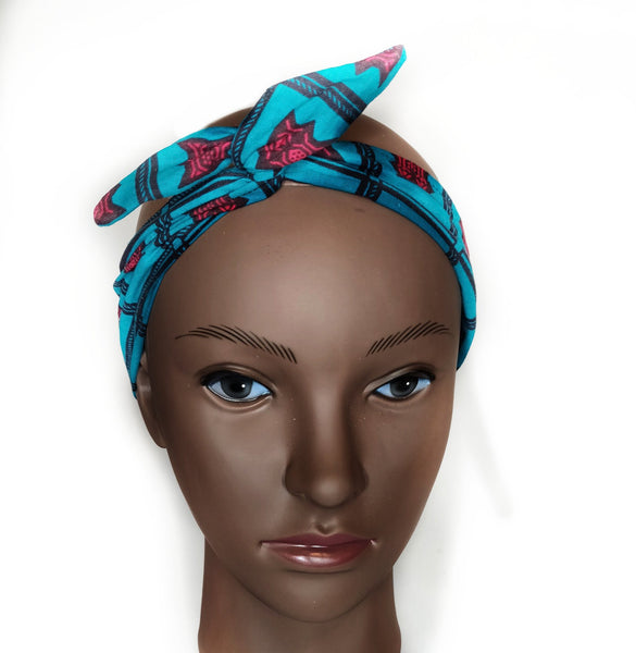 K A N I A - African Print Wired Headband