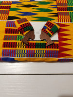 OHENEWAA African Queen Headwrap Earrings