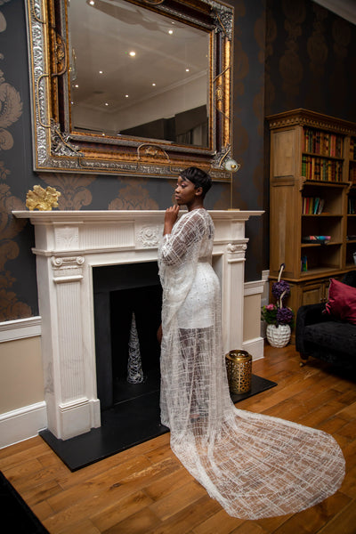C H E R R Y - L O E - Luxury Bridal Robe